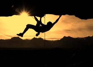 Escalada, terceiro lugar do top 5 esportes radicais da Kanui. Foto: Jen Elizabeth