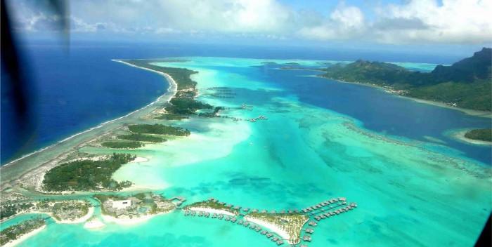 Belezas Naturais - Praia de Matira - Bora Bora