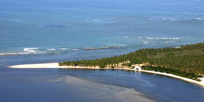 Praia do Gunga. Foto: Site Praia do Gunga