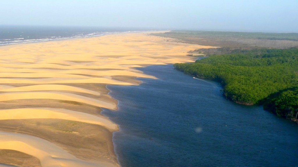 Delta do Parnaíba. Foto por- Delta Rio Parnaíba