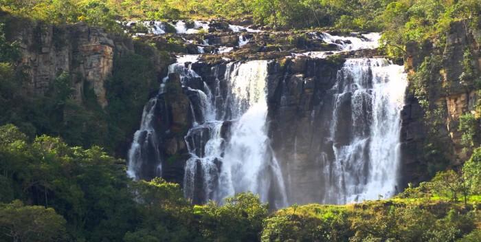Cachoeira Corumbá de Goiás