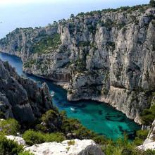 Fotos de algumas das Belezas Naturais da França. Calanques de Marselha