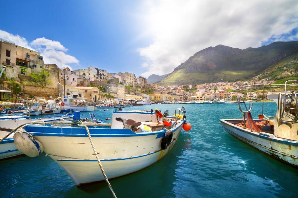 Fotos de algumas das belezas naturais da Itália